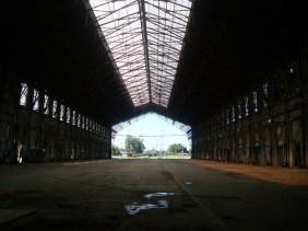 Dentro de la estación Belgrano de Santa Fe
