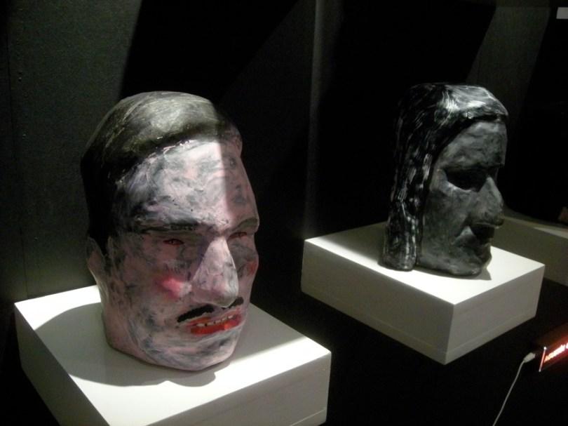 Esculturas de Agustín González Goytía en galería Rusia de Tucumán