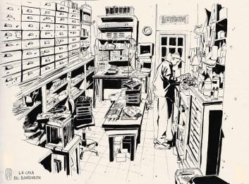 La casa del bandoneón por Anne Sophie Girault