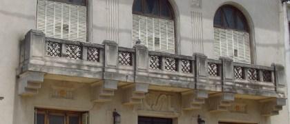 La sede del Club social lobense. Foto