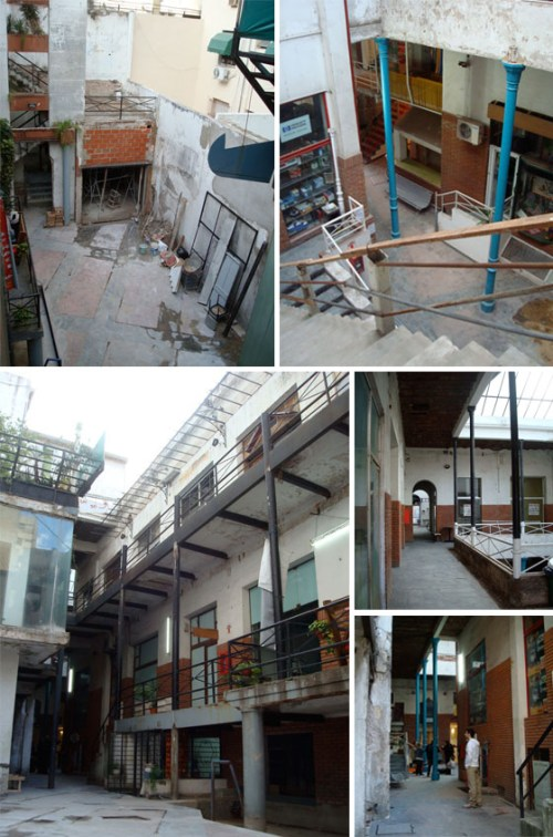 Fotos de la galeria Patio del Liceo en 2009. Foto.