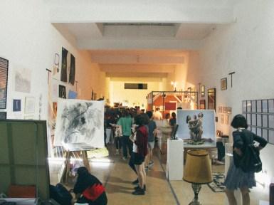 Imagen general de Junta Feria en la galería Meridión. Foto