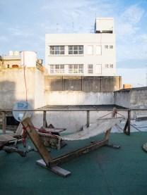 Vista general de la terraza de Mundo Dios en Mar del Plata. Foto