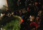 Patio, pileta y verano en la fiesta de lanzamiento del Anuario de Ilustradores. Foto