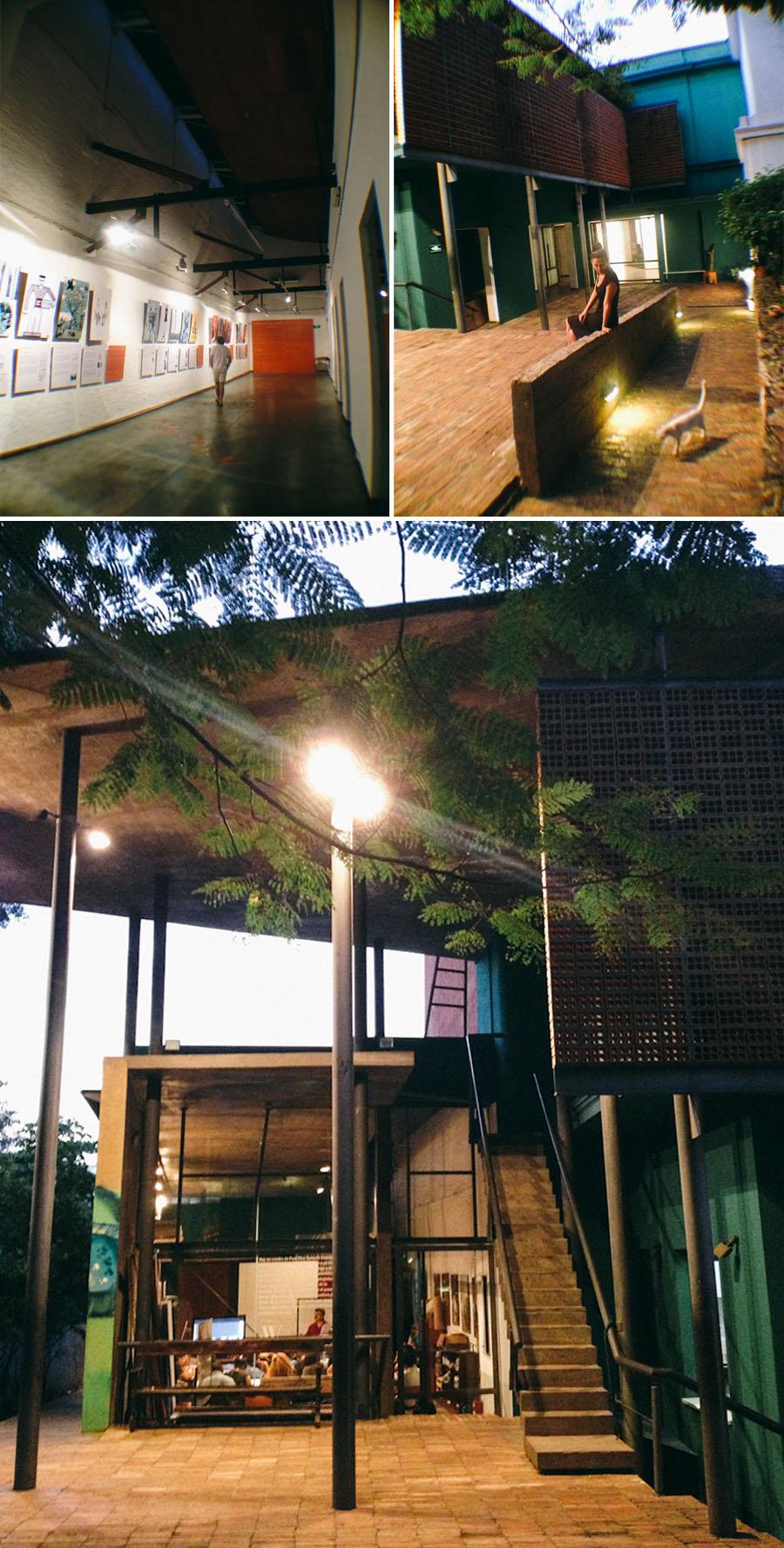 Centro Cultural de España Juan de Salazar en Asunción del Paraguay. Fotos