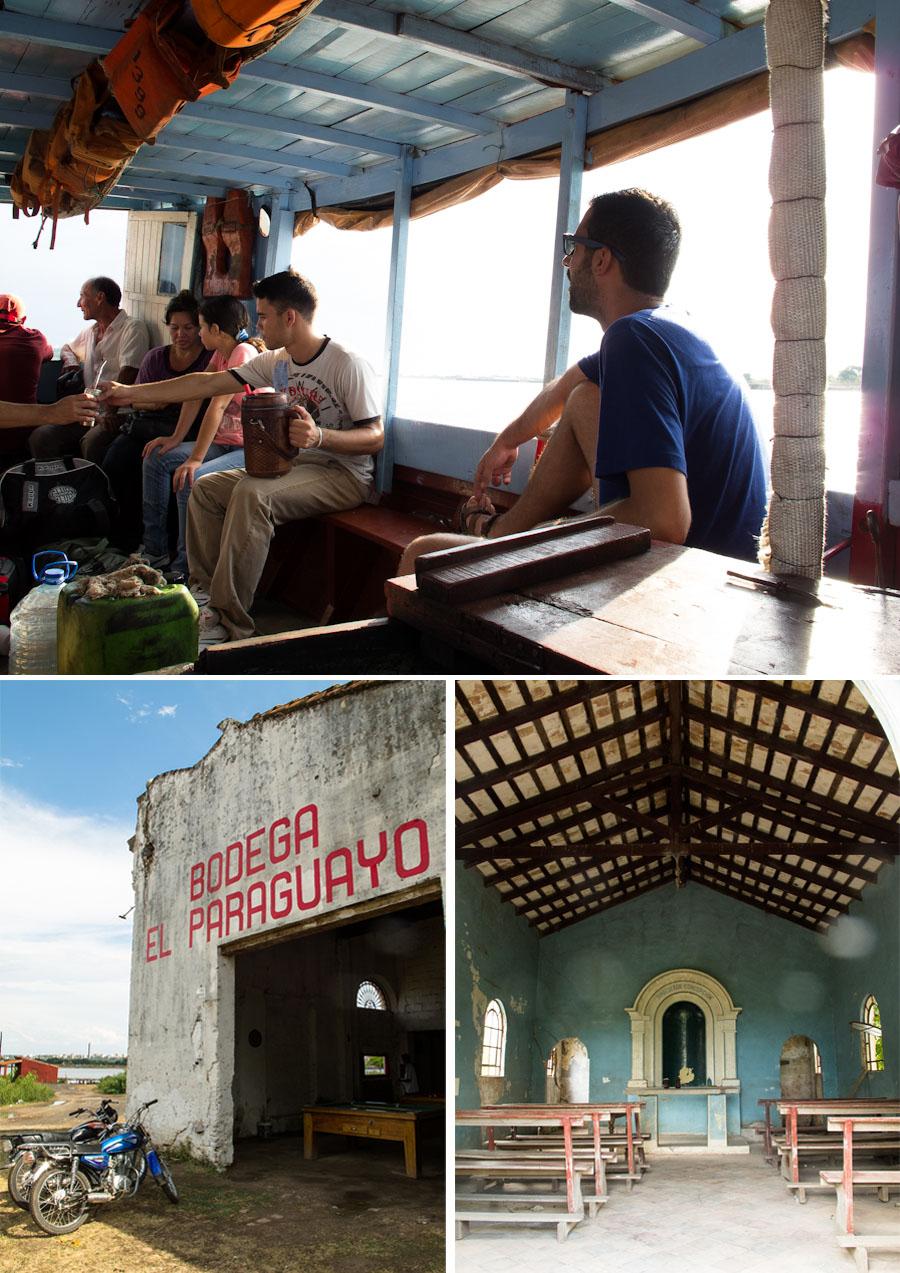 Visita a Chacoí, frente a Asunción del Paraguay. Fotos
