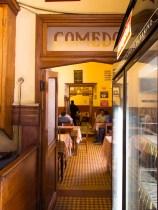 Tradicional Bar Cortano en el centro histórico. Foto