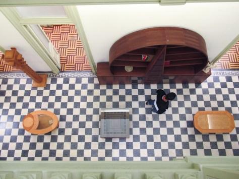Vista superior de la tienda Artesanos de Don Bosco en Barranco. Foto