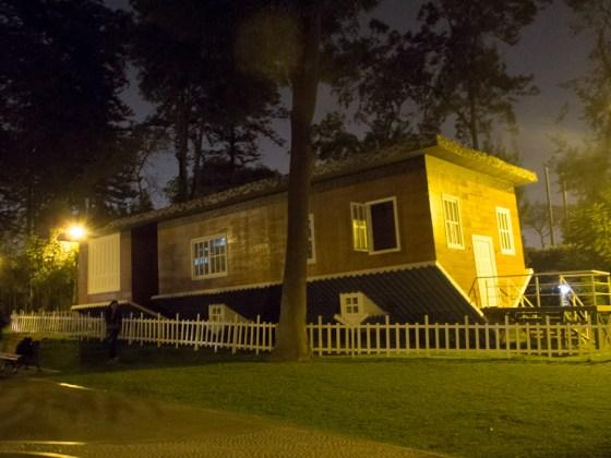 Instalación en el Parque de la Reserva de Lima. Foto