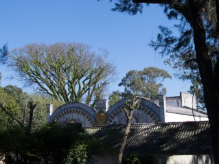 Vista del Teatro Urquiza desde la calle. Foto