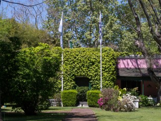 Jardín de la Comisión Administradora del Río de La Plata. Foto