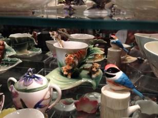 Taza con motivos de tigres de Franz Collection. Foto