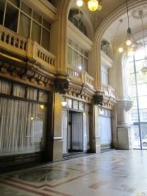 Hall de entrada del Palacio Barolo. Foto.