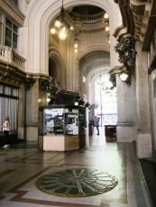 Hall de entrada del Palacio Barolo