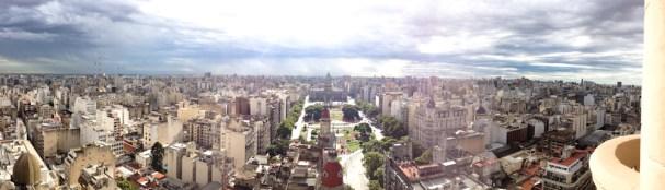 Vista panorámica de Buenos Aires desde el Palacio Barolo