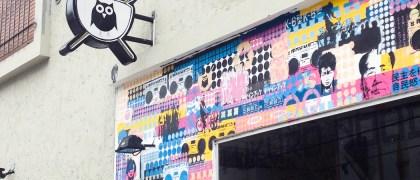 Fachada de Fukuro Noodle Bar en Palermo. Foto