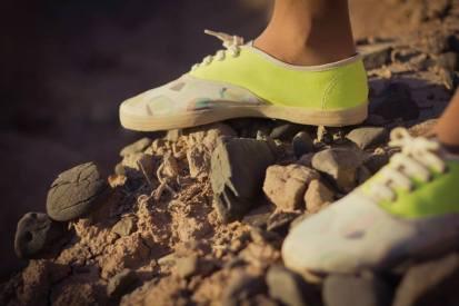Zapatillas de Mundo Estudio para un concurso de Para Ti y Arte Espacio (2013). Foto
