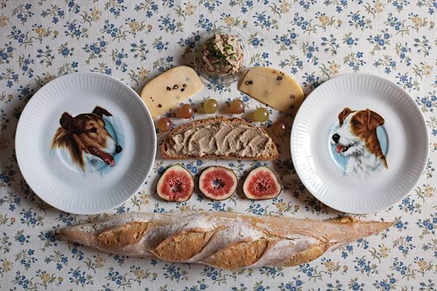 Fotografía de Cecilia Lenardón en La hora del té. Foto