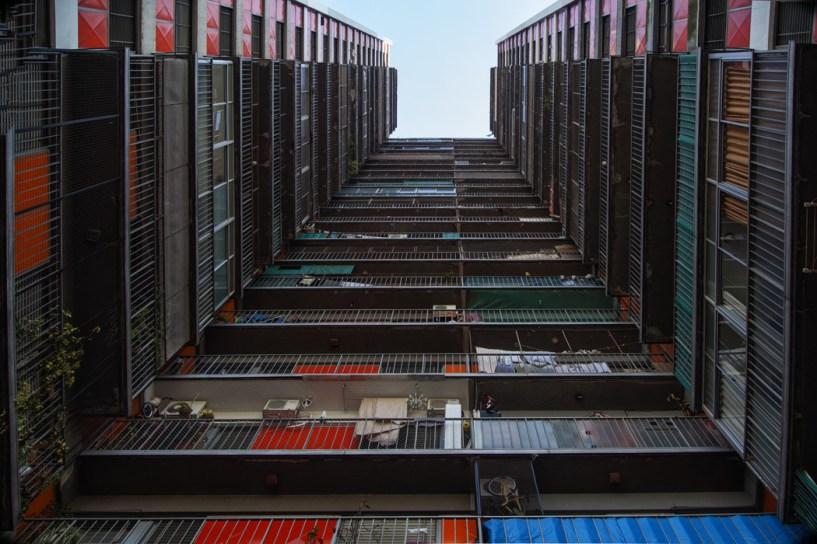 Conjunto de viviendas en Parque Patricios. Foto