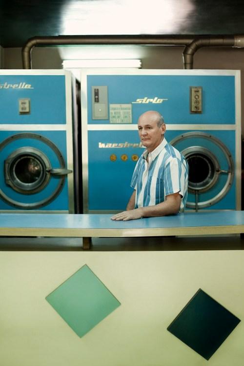 Lavadero retratado en el libro Locales. Foto
