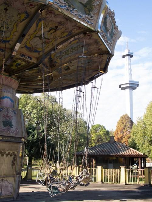 Carrousel en el Parque de la Ciudad. Foto