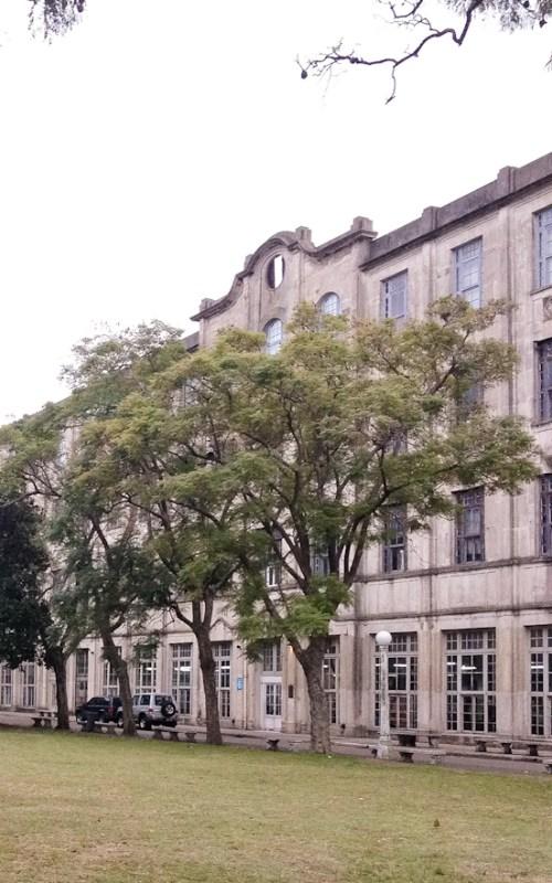 Antiguo Hotel de los inmigrantes, en Retiro. Foto