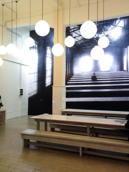 Confitería de la sede del Muntref. Foto