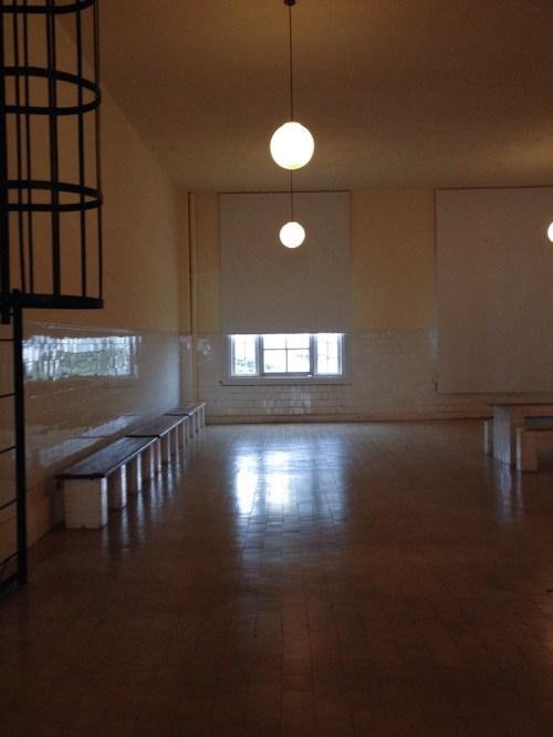 Interiores del ex Hotel de inmigrantes. Foto
