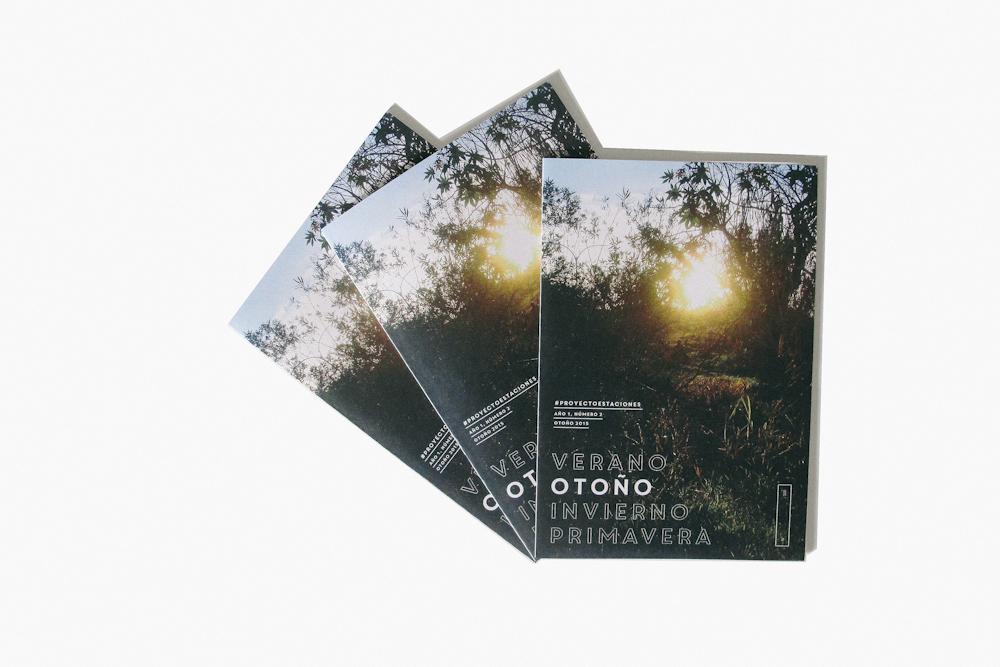 #2: Otoño - Pack de tres copias numeradas