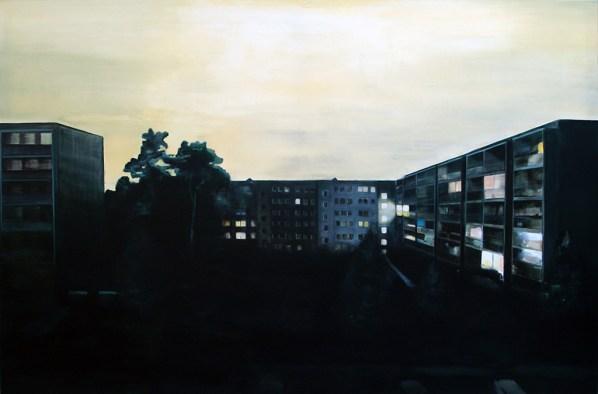 Am Jägerpark 67 / Öl auf Leinwand / 120 x 180 cm / 2008