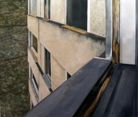 Aus-Blick II / Öl auf Leinwand / 171 x 198 cm / 2008