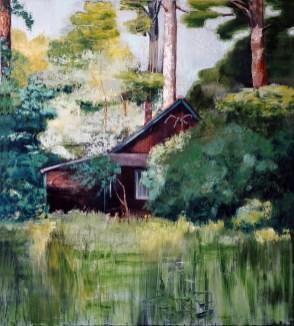Einsamkeit / Öl auf Leinwand / 100 x 90 cm / 2006