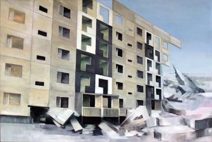 Broken World / Öl auf Leinwand / 120 x 180 cm / 2009