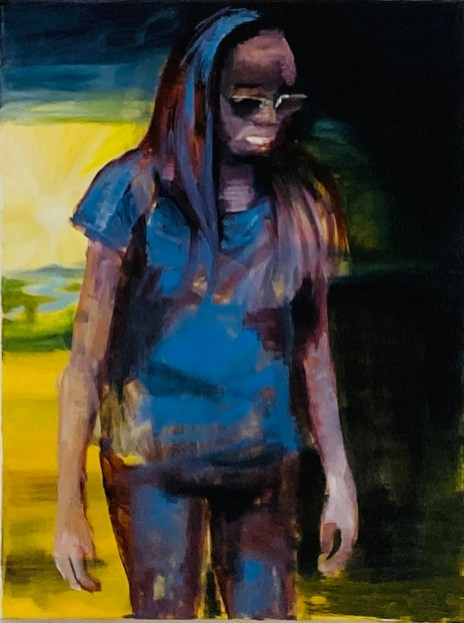 M / Öl auf Leinwand / 80 x 60 cm / 2019