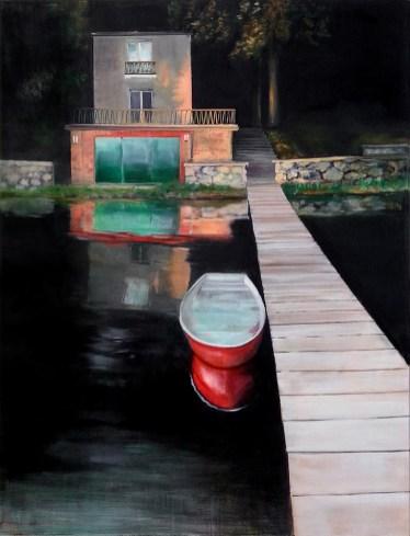 Morgenrot / Öl auf Leinwand / 130 x 100 cm / 2011