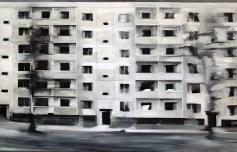 Reicker Straße II / Öl auf Leinwand / 100 x 150 cm / 2010