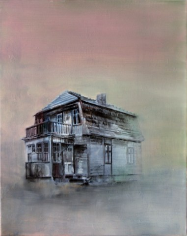 Verlassen / Öl auf Leinwand / 40 x 50 cm / 2012