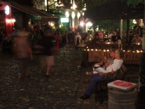 On the cobbled streets of Belgrade