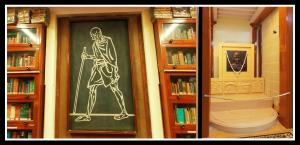 "Mani Bhavan Library- Gandhi'ji quotes ""Live as if you are going to die tomorrow and learn as if you are going to live forever""! Photo edit: Aditya Chichkar."