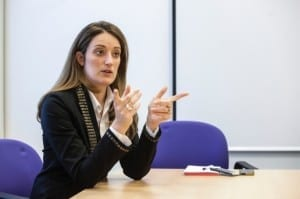Roberta Metsola Tedesco Tricas (pn) re-elected