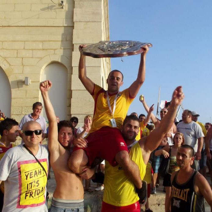 MalDia 06 (03-09-14) Senglea shield winners