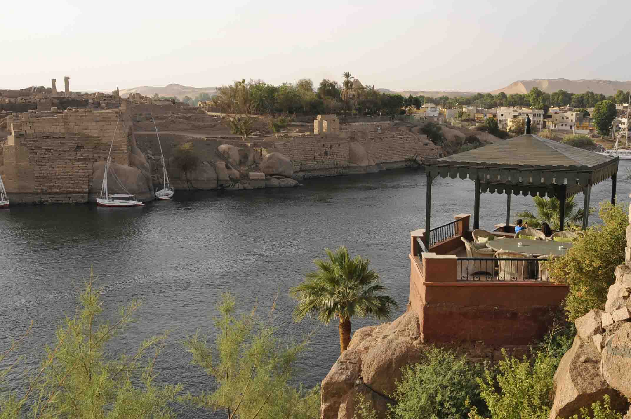 EGYPTE  Assouan: h™tel Old Cataract