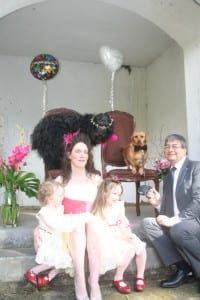 Woofy Weddingfamily photo