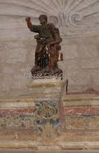 MalDia 07 (26-11-14) a statue of St Matthew in the old chapel