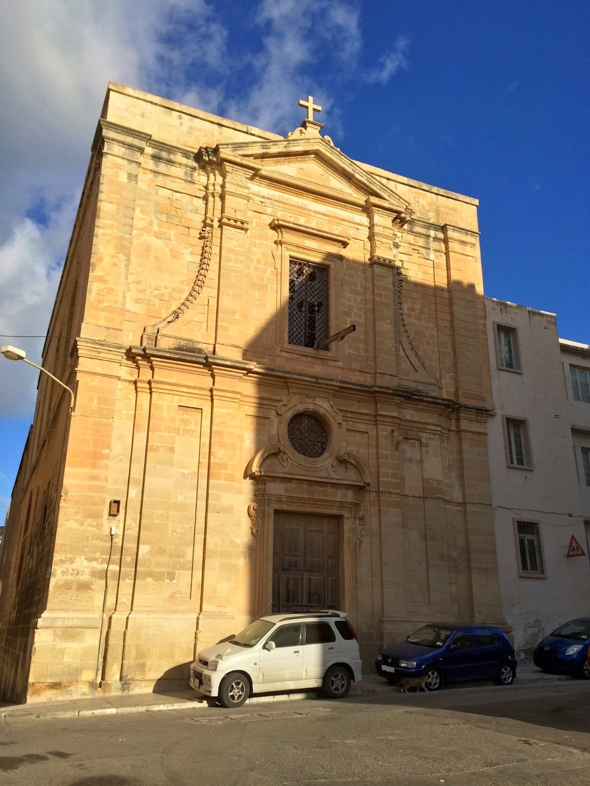 MalDia 03 (03-12-14) - the Magdalene Church, Valletta