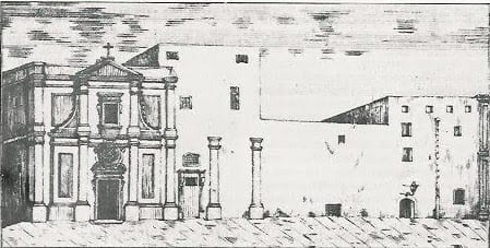 MalDia 04 (03-12-14) - sketch of the Magdalene Church and adjoining Convent