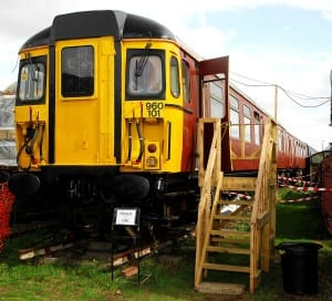 Class 309 converted to a museum and a cafe