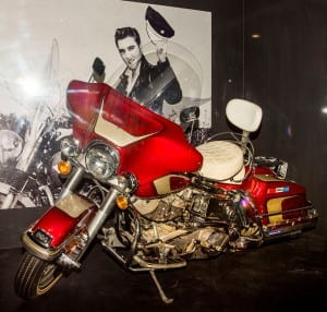 One of his motor bikes