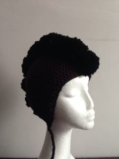 Crochet - Mohawk Hat (Commission)