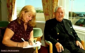 Norman Wisdom and Ann Evans